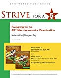 img - for Strive for 5: Preparing for the AP Macroeconomics Examination book / textbook / text book