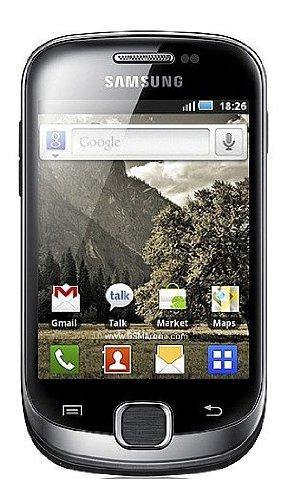 Samsung S5670BKEU Galaxy Fit Unlocked Phone with Android OS, FM Radio, 5 MP Camera, GPS and Wi-Fi, Unlocked Phone, No Warranty (Black)