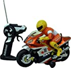 DimpleChild Radio Control Motorcycle with Driver, Lights and Sound Effects DC4971