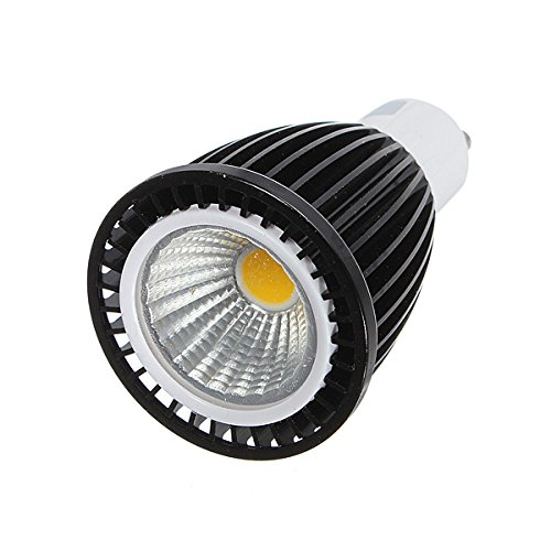 Kingso 7W Gu10 Non-Dimmable 220V Led Cob Spot Light Lamp Bulb Spotlight Pure White
