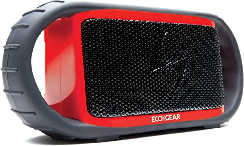 Grace Digital ECOXGEAR ECOXBT Rugged and Waterproof Wireless Bluetooth Speaker - Red Black Friday & Cyber Monday 2014