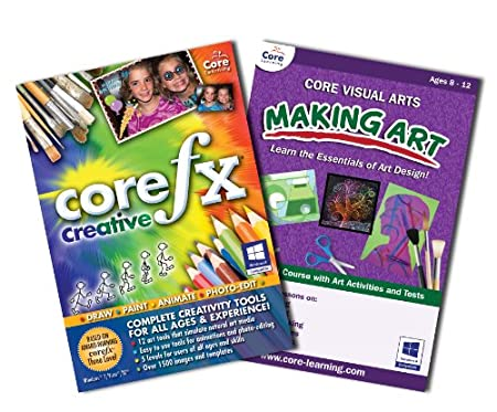 coreFX Creative + Core Visual Arts - Making Art Bundle [Download]