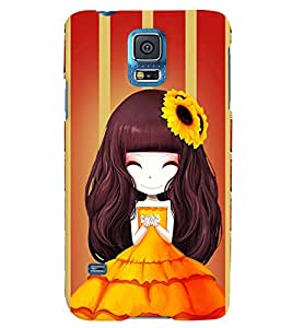 Fuson 3D Printed Girly Designer back case cover for Samsung Galaxy S5 Neo - D4345