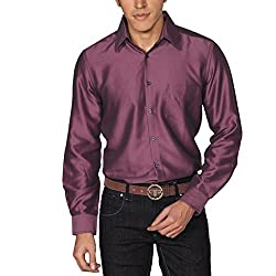 Provogue Men's Casual Shirt (8903522441189_103524-VI-219_Medium_Purple)