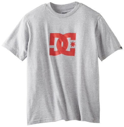 Dc Apparel - Kids Big Boys' Star, Heather Grey, Large front-1007895