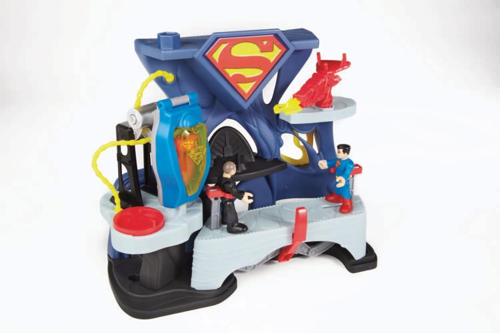 Amazon.com: Imaginext DC Super Friends Superman Playset: Toys & Games