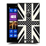 Head Case Designs Onyx Polka Dots Union Jack Collection Case For Nokia Lumia 925