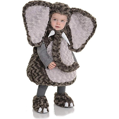 Elephant Plush Belly Toddler Costume