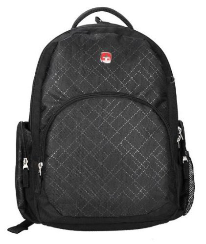 2014 Swiss Gear New Style Classic 14 Inch Computer Notebook Laptop Teblet Backpack.Sa9945 Black-C1