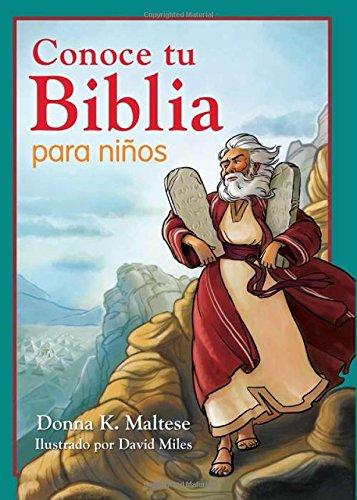 Conoce Tu Biblia Para Ninos: Mi Primera Referencia Biblica Para Ninos de 5 a 8 Anos de Edad