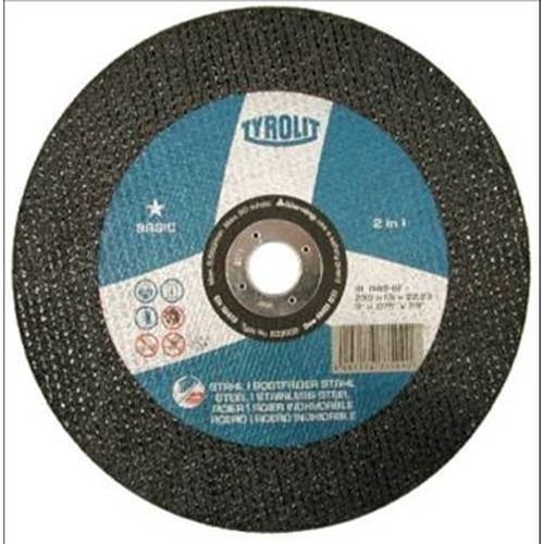 Tyrolit-Disco Per Taglio Acciaio Inox, 230 X 1,9 X 22, 633509