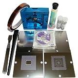 LarcoLais BGA Reball Station for PS3 GPU CPU CXR714120 Stencil Rework Reballing Repair Kts