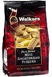 Walkers Shortbread Mini Fingers, 4.4-Ounce (Pack of 6)