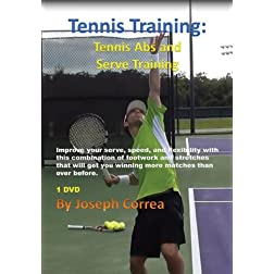 Tennis Training: Tennis Abs and Serve Training