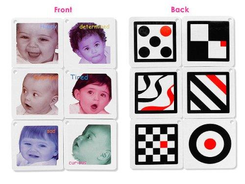 Toys For Stimulating Newborns : Black white red infant stimulation toy trio toys games