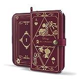 Old Book Case ディズニー スマホケース 手帳型 全機種対応 / ストラップホール / カードホルダー 付き / 横開き ダイアリー / キャラクター レザー / スマホ スマートフォン ケース カバー / Xperia Z3 Compact SO-02G / エクスぺリアZ3 コンパクト / Disney Mobile / ディズニーモバイル / SH-02G / SH-05F / F-03F 対応 / アリス・イン・ワンダーランド / バーガンディ