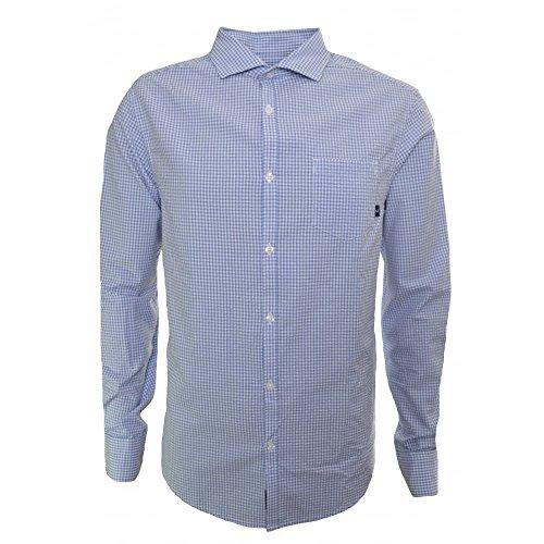 Armani Jeans -  Camicia Casual  - Classico  - Maniche lunghe  - Uomo blu XXX-Large