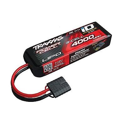 Traxxas 11.1v 4000mah LiPo Battery ID Plug 25C