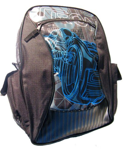 Tron Light Cycle 16 Inch School Backpack