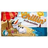 Disney Frozen Olaf Beach Swim Towel by Disney