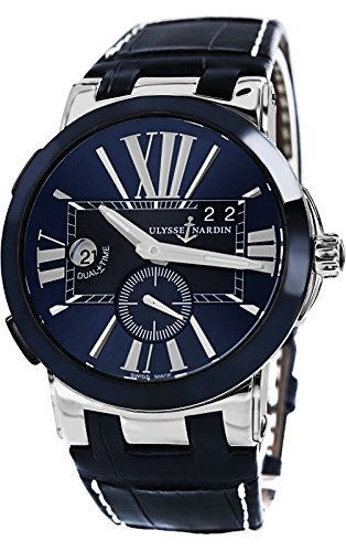 Ulysse Nardin Gmt DualTime Men's Automatic Watch 243-00/43