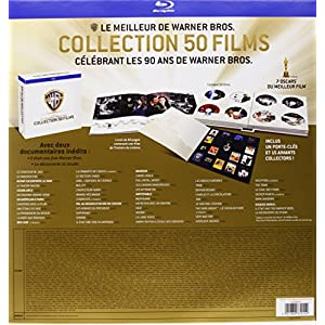 Coffret 90 ans Warner - Le meilleur de Warner Bros. - Collection 50 films [Blu-ray] [Édition Limit
