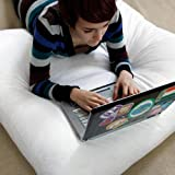 Extra Large Dorm Floor Study Cushion Pillow - 36 x 36 - 6 Inch Deep - Perfect For College - Made In The USA