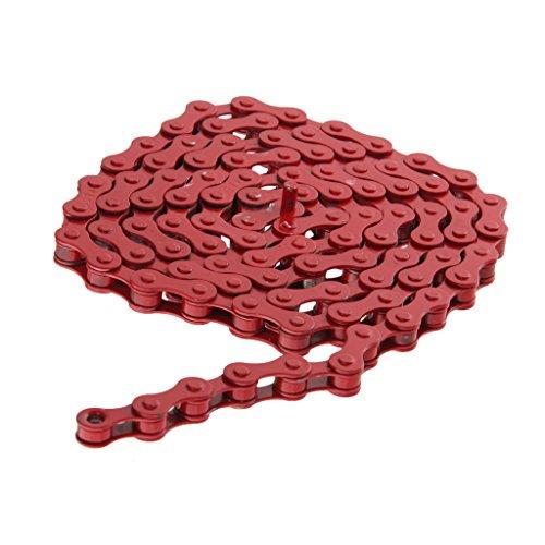 chaine-de-velo-engins-fixes-piste-vitesse-chaine-de-bicyclette-1-2x-1-8-taille-unique-rouge
