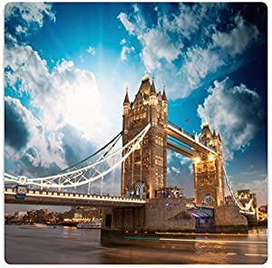 Amazon.com: Rikki KnightTM Beautiful Sunset Colors Over Famous Tower