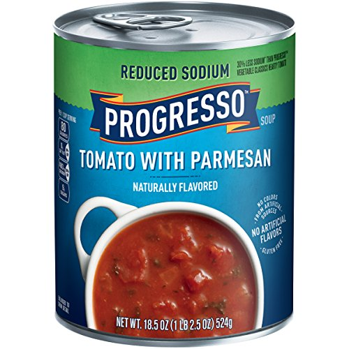 Progresso Reduced Sodium Soup, Tomato Parmesan, 18.5-Ounce Cans (Pack of 12) (Progresso Tomato Parmesan compare prices)