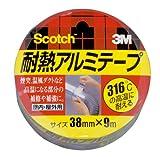 3M スコッチ 耐熱アルミテープ 38mm×9m ALT-38