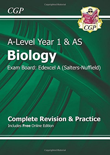 New 2015 A-Level Biology: Edexcel A Year 1 & AS Complete Revision & Practice with Online Edition