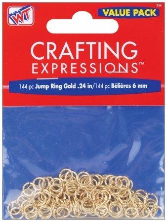 Westrim 5903-8E-004 Jump Rings 6mm 144/Pkg - 1