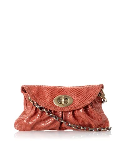 Carla Mancini Women's Sidney Mini Shoulder Bag, Burnt Orange Shimmer As You See