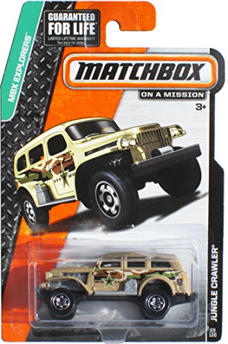Matchbox On a Mission: Mbx Explorers - Jungle Crawler 59/120 - 1