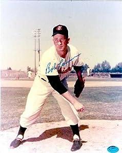 Bob Lemon autographed 8x10 Photo (Cleveland Indians)