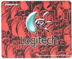 AlexVyan®-Genuine Accessory- Anti Skid Red Logitech Mouse pad, Mousepad