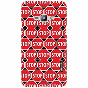 Samsung Galaxy J1 Ace Back Cover - Silicon Stop Designer Cases