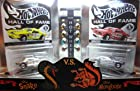 Hot Wheels RedLine Club Release Limited Edition Hall Of Fame The Snake vs The Mongoose Tom McEwen Don Prudhomme Funny Car Set