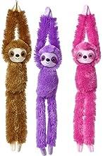 24quot Hanging Pink Sloth Plush Stuffed Animal Toy - New