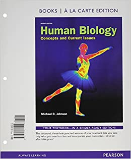 .com: Human Biology: Concepts and Current Issues, Books a la Carte