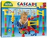 Lena 65202 Cascade - Circuito para canicas (42 piezas, gran tamaño) [importado de Alemania]