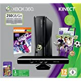 Xbox 360 250GB Console with Kinect Sensor: Includes Kinect Sports and Dance Central 2by Microsoft