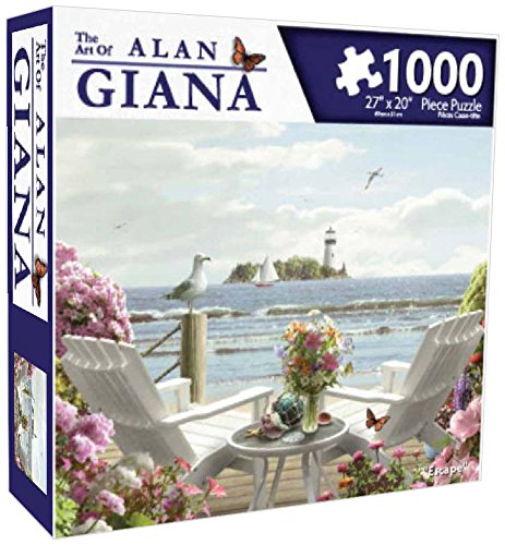 Karmin International Alan Giana Escape Puzzle (1000-Piece)