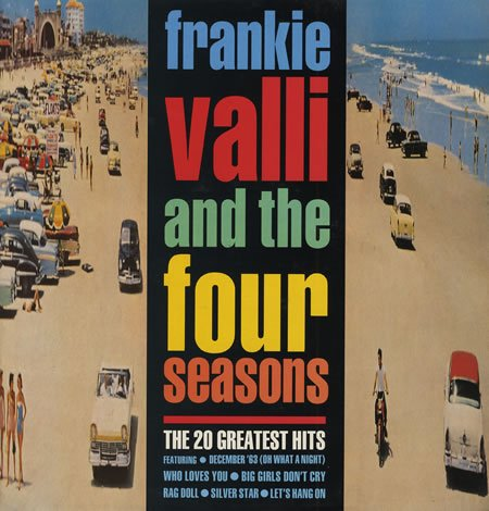 Frankie Valli And The Four Seasons – The 20 Greatest Hits (1989) [FLAC]