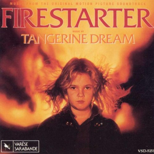 Original album cover of Firestarter: Music From The Original Motion Picture Soundtrack by Tangerine Dream