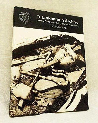 Tutankhamun Archive Postcard Pack
