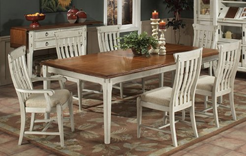 Point Weathered Linen Dining Set