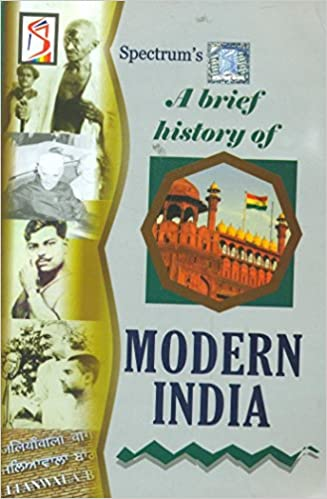 A Brief History Of Modern India Paperback – 2015 Book Cover