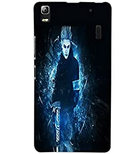 LENOVO A7000 TURBO DEVIL Back Cover by PRINTSWAG
